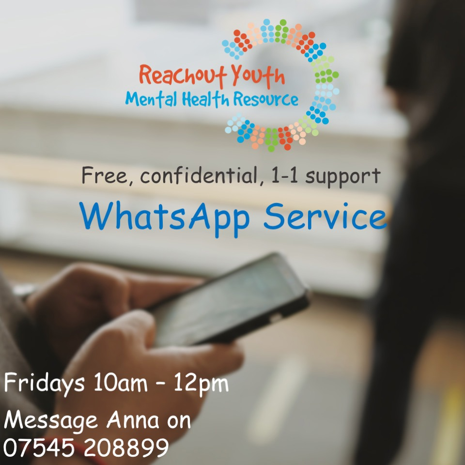Reachout Youth WhatsApp support