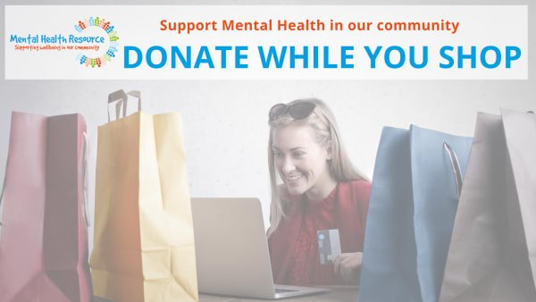Donate to Mental Health Resource while you shop