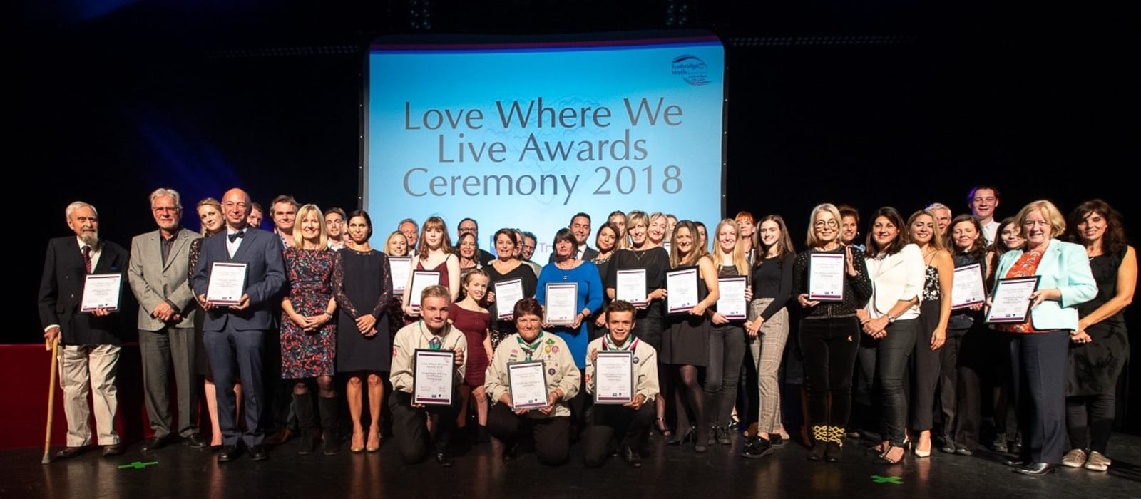 MHR at Love Where We Live awards
