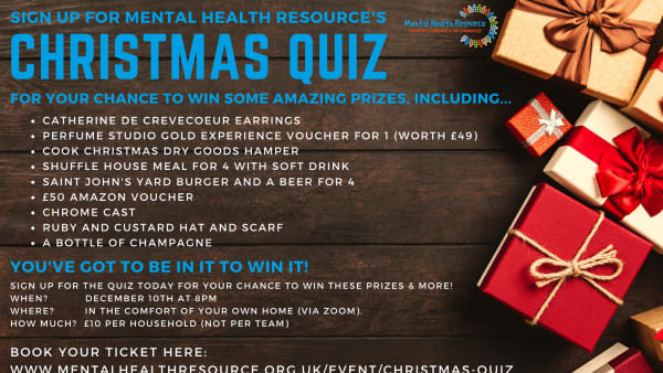 Mental Health Resource CHristmas quiz