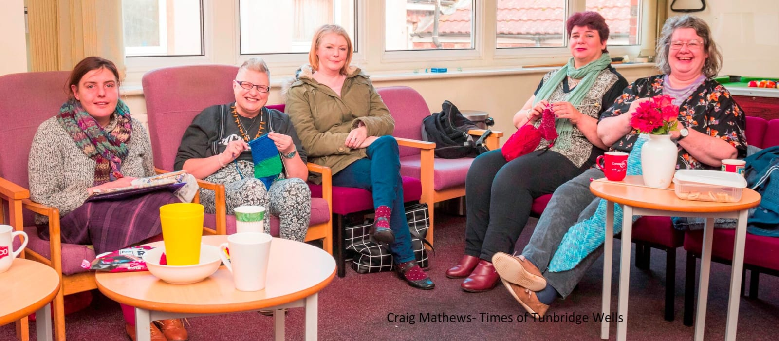 Mental Health Resource knitting group